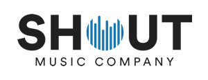 Shout Music Company Logo